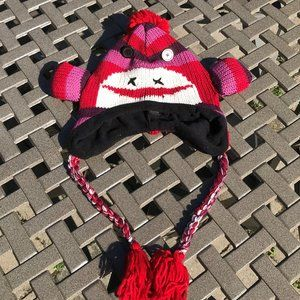 Accessories - SOCK MONKEY HAT FOR ADULTS – SIZE MEDIUM TO LARGE